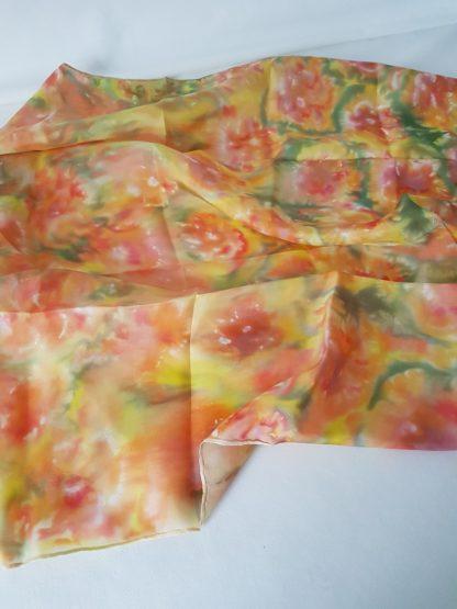 Foulard en soie Fleurs des champs