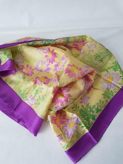 Foulard collection Mes Jolies Fleurs