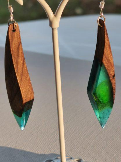 Boucles d'oreilles collection figures insolites