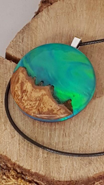 Pendentif collection aurore boréale